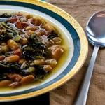 Kalyn's Kitchen: Hopping John Soup Recipe for Luck in the New Year (Black-Eyed Pea, Ham, and Collard Greens Soup)