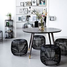 Awesome Modern stool black from House Doctor. Combine this stool with your favorite House Doctor furniture. Decoration Inspiration, Interior Design Inspiration, Room Inspiration, Decor Ideas, Room Ideas, House Doctor, Interior Exterior, Interior Architecture, Sweet Home