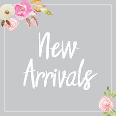 Our inventory is blooming - check out our new arrivals! I just dropped off new stuff at the Mooresville location! #NewArrivals