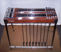 A pedal steel guitar makes anyone sound better.