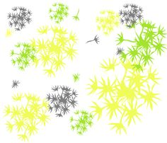 dandelion_print fabric by omahamomof3 on Spoonflower - custom fabric