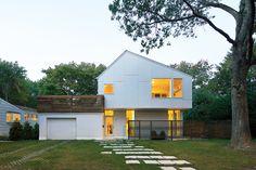 suburban Massachusetts home