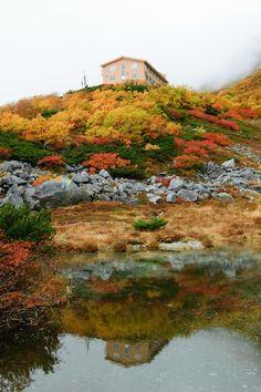 reflecting by taisuke matuno on 500px Nagano, Rising Sun, Japan Travel, Alps, Asian Art, South Korea, Past, Reflection, Sunrise