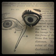 Vintage sterling silver eyeball ring 👀💍 Vintage sterling silver eyeball ring 👀💍. Marked 925. Moveable eye, sits sturdy in a gorgeous vintage sterling silver ring setting. So unique!! These rings are hard to find, so get it while you can!! 💗💍🙀 vintage  Jewelry Rings