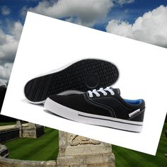 premium selection b8954 435b0 Don t put off Men s Adidas Neo Canvas Shoes Low Black White Royal-Blue till  tomorrow what can be run today