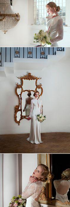 Sanyukta Shrestha's Wallis in Love collection #vintage #wedding #gown