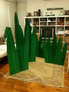 Stage Grass: Group's Weird Animal VBS