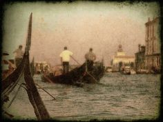 The Gondoliers  8x10 Fine Art Photo Print  $35 by SingingPhotographer, Venice, Italy