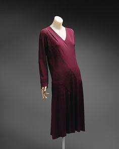 Dress (image 1) | Madeleine Vionnet | French | 1926-27 | silk |  Metropolitan Museum of Art | Accession Number: C.I.45.103.2