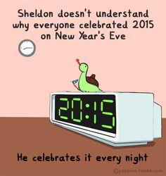 Sheldon the Tiny Dinosaur who Thinks he's a Turtle, , panaran: 2015 Anno Sheldini