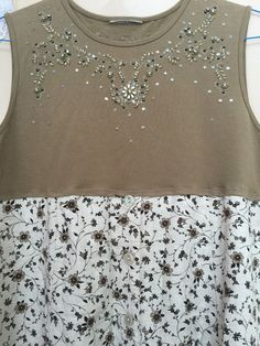 Upcycled Clothing Romantic Tank dress Shabby Chic Dress