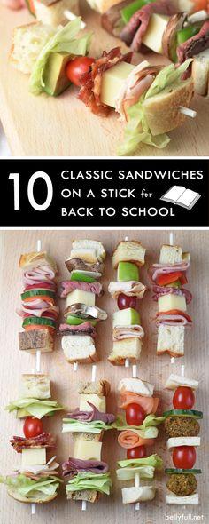 10 Classic Sandwiches