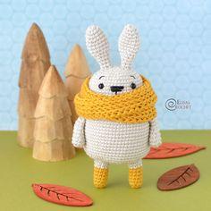 Coco the Rabbit Free Crochet Pattern By Elisa's Crochet