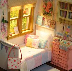 Nerea Pozo Art: Diorama ♥ ♥ IRIS Y FLORES