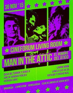 Cinefórum Living Room: Man in the attic
