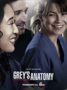 My favourite tv show is Greys Anatomy. Every Thursday I watch Greys Anatomy and I love it. Movies And Series, Best Series, Best Tv Shows, Best Shows Ever, Favorite Tv Shows, Favorite Things, Meredith Grey, Cristina Yang, True Blood