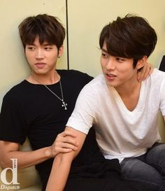 woohyun and SUNGYEOL