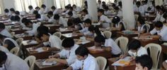 KARACHI: Intermediate examinations 2015 for Pre-Medical, Pre-Engineering, Science (General), Medical Technology and Home Economics groups started in Karachi on Tuesday (today).