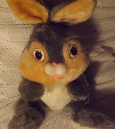 Vintage Plush Thumper Doll by JandDsAtticTreasures on Etsy, $12.00