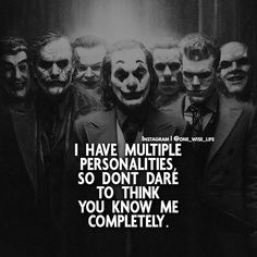 Survival of the fittest Be careful out there… Dark Quotes, Wisdom Quotes, True Quotes, Motivational Quotes, Inspirational Quotes, Quotes Quotes, Heath Ledger Joker Quotes, Best Joker Quotes, Badass Quotes