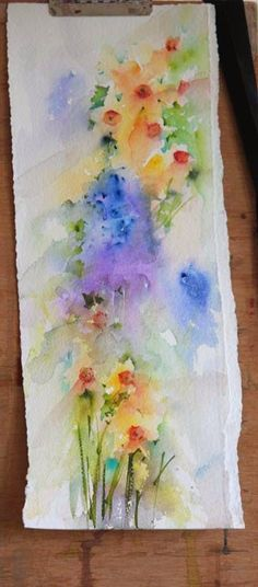 Watercolours With Life: January 2015
