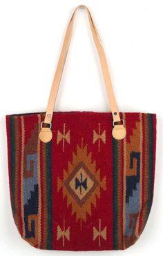 Maya Modern purses are handwoven of 100% wool. In red diamond design. #southwest #southwestern #western #purse #handwoven #wool #maya #elpasosaddleblanket #elpasosaddleblanketcompany