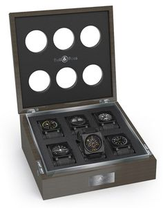 Pretty much a dream line-up of Bell & Ross watches