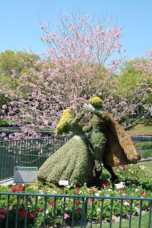 Epcot Flower and Garden Festival- Spring is Almost Here! | Home is Where the Mouse is - includes virtual tours from the past festival