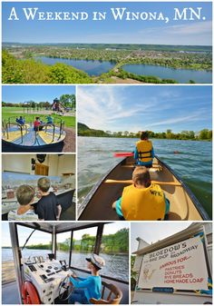 Life With 4 Boys: A Weekend in Winona, MN #90DayRoadTrip #Travel