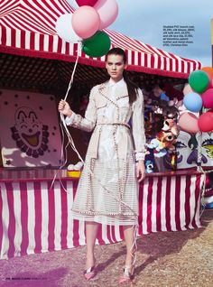 FAIR GAME: ALEXANDRA TOMLINSON BY FABIO CHIZZOLA FOR UK MARIE CLAIRE MARCH 2013