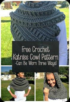 Katniss Crochet Cowl Free Pattern Plus Video Tutorial
