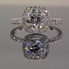 Park Avenue Halo Engagement Ring | WinkCZ