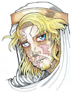 O grande rei Balduíno IV lutou bravamente contra a lepra - doença então incurável - que nele se manifestou desde a infância.