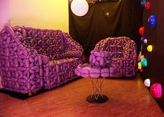 Ordinaire Balloon Furniture Why Not And It Is Purple