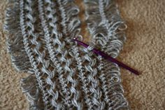 Hairpin Lace Tutorial                                                                                                                                                                                 More
