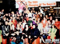 "1989 Club Kids ""Changing Of The Guard"" at Red Zone Nightclub."