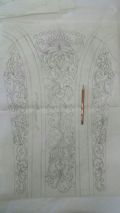 Shosha Qtr's media statistics and analytics Tambour Embroidery, Couture Embroidery, Embroidery Motifs, Hand Embroidery Designs, Wreath Drawing, Fashion Illustration Sketches, Lace Patterns, Designs To Draw, Needlepoint