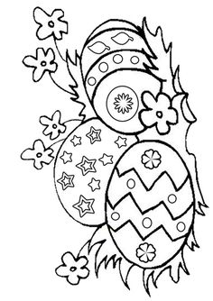 Easter coloring page Download Free Easter coloring page for kids