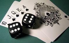 Gambling, dice, poker, casino, Royal Flush