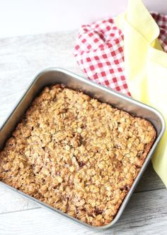 7 Perfect Make-Ahead Oatmeal Breakfast Bakes For Easy Mornings Healthy Recepies, Healthy Snacks, Breakfast Bake, Breakfast Recipes, Make Ahead Oatmeal, Baking Recipes, Snack Recipes, Recipes From Heaven, Recipe For Mom