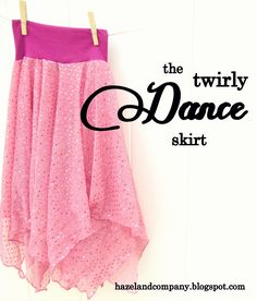 hazel and company: twirly dance skirt tutorial {and a skirt giveaway!}