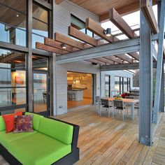 Porch Steel Beams Design, Pictures, Remodel, Decor and Ideas