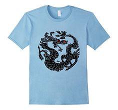 Oriental Dragon Black tshirt #dragon  Baby Blue SpiceTree Designs http://www.amazon.com/dp/B016HLANRK/ref=cm_sw_r_pi_dp_ftRhwb0MCEVNX