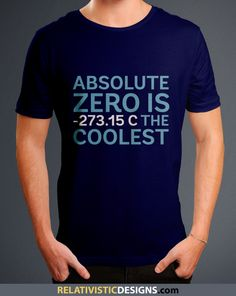 Absolute Zero Nerd T-Shirt