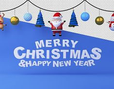 MERRY CHRISTMAS & HAPPY NEW YEAR on Behance New Year Illustration, Graphic Design Illustration, Merry Christmas And Happy New Year, 3d Rendering, New Work, Behance, 3ds Max, Gallery, Profile