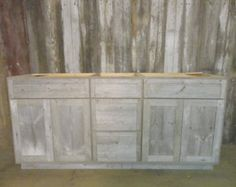 Barnwood Cabinet Made to Order from by WhatmanBarnFurniture