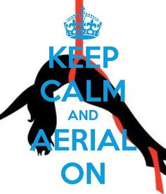 Kepp calm and aerial on!