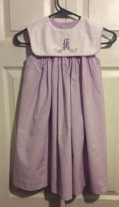 A monogrammed boutique purple sleeveless dress size 5 Easter Spring #RememberNguyen #MaxiDress #EasterDressyHolidayPageantParty