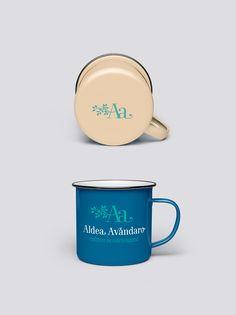 ALDEA AVANDARO Branding, Mugs, Tableware, Design Web, Brand Management, Dinnerware, Tumblers, Tablewares, Mug
