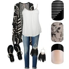 Black and white by jennibarrientos on Polyvore featuring polyvore fashion style Miss KG Dorothy Perkins